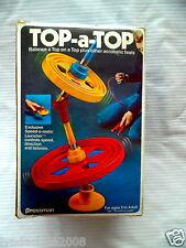 Vintage 1970's Top A Top Game By Pressman
