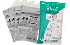 Disaster Traffic Emergency Use Portable Toilet replacement Bags 4pcs for Camping
