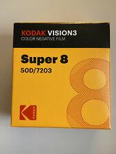 Kodak Vision3 50D Super 8 Color Negative Film