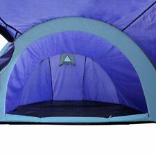 Tenda da campeggio per 4 persone blu marino / azzurro K6M4