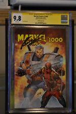 Marvel Comics #1000 Torpedo Comics Variant Signed by Rob Liefeld CGC 9.8 2019