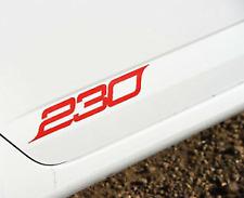2x Red SKODA OCTAVIA VRS 230 Door Graphics Decal Stickers Black Is Available Too