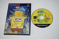 SpongeBob's Atlantis SquarePantisPlaystation 2 PS2 Game Disc w/ Case