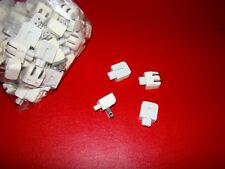 Lot of 4 Genuine Apple DuckHead 2-Prong Wall Adapter AC Charger Plug used
