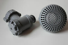 COLEMAN ON OFF PLUNGER VALVE & STRAINER SWIMMING POOL FILTER PUMP REPLACEMENT