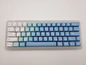 KBDFans Frosted Polycarbonate 60% Custom Mechanical Keyboard