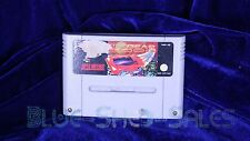 Top Gear 3000 game cartridge for Super Nintendo (SNES) system
