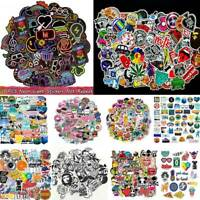 100Pcs/Set Skateboard Vinyl Sticker Skate Graffiti Laptop Luggage Car Bomb Decal