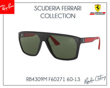 552f4ad114 RAY-BAN SCUDERIA FERRARI RB4309M F6266G 60mm MATTE BLACK AR SUNGLASSES