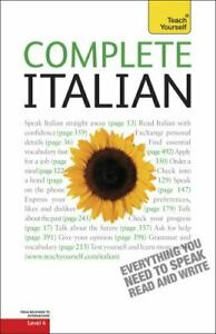 Complete Italian: A Teach Yourself Guide (Teach Yourself Language), paper, Elsto