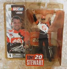 "New McFarlane Series 1 Nascar 6"" Tony Stewart #20 Home Depot w/ Sunglasses"