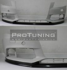 Audi A4 8K B8 08-12 Front Bumper spoiler S line look lip Valance addon chin ABT