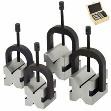 8 pc V-Block Clamp Bar Double Sided 90° Precision Hardened Steel Machinist Tool