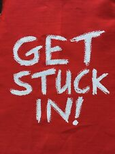 Jamie Oliver - Kitchen Apron - Red - Get Stuck In!