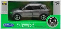 WELLY AUDI Q3 SILVER 1:34 DIE CAST METAL MODEL NEW IN BOX