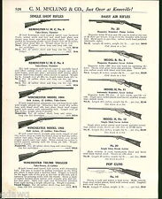 1921 ADVERT Daisy Air Rifle Magazine Repeater Lever Break Action Pop Gun BB