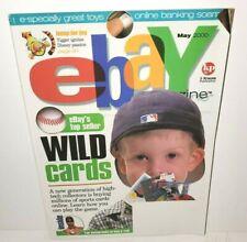 EBAY MAGAZINE MAY 2000 SPORTS CARDS MEMORABILIA COLLECTIBLES DISNEY TIGGER TOYS