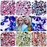 300 Pcs Nail Art Rhinestones Glitters 3D Beads Acrylic Tips Decoration Manicure