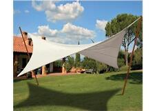 Vela ombra ombrellone copertura top telo gazebo 4 corde  mt 3 x 3 ravello 499144