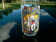 Miss Piggy On A Motorcycle The Great Muppet Caper 1981 Glass Mcdonalds 1981