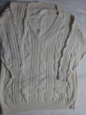 Maglione Uomo Renee Hauer Cotone color Avorio taglia XL