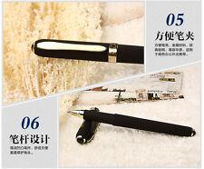 12pcs BAOKE GEL INK PEN 0.5mm Smooth Writing Business signature Rollerball pens