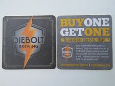 Beer Coaster ~ DIEBOLT Brewing ~ Sunnyside, Denver, COLORADO; Buy 1, Get 1 Free!