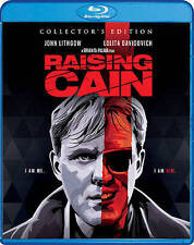 Raising Cain (Blu-ray Disc, 2016, Collectors Edition) NEW Sealed