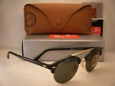 Ray Ban 4346 Black w Green Crystal (G-15) Lens NEW sunglasses ( 6680938bfa90