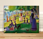 """Georges Seurat Sunday Afternoon~ CANVAS PRINT 8x10"""" ~ Classic Pointalism Art"""