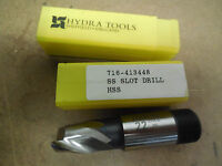 HYDRA TOOLS 22MM Metric 22 MM 2 Flutes Slot Drill Extra Length End Mill endmill