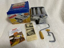 Vintage New Old Stock Marcato Ampia Brevettata mod.150 Pasta Machine made Italy