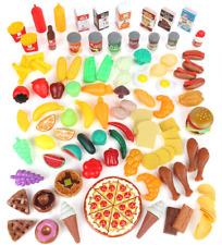 Kitchen Play Set Pretend Food Preschool Toys BPA Toddler Girls Kid Fun Variety