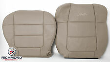2001 Ford F-150 Lariat SuperCrew -Driver Side Complete Leather Seat Covers Tan