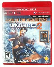 Uncharted 2: Among Thieves Game Of The Year Edition (PS3) Manual Included