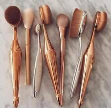 10PC Pinceaux de maquillage Professionnel Toothbrush Makeup Brushes Set