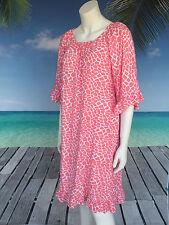 Animal Print Knee-Length Casual Sundresses for Women