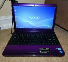 Sony VAIO PCG-61315 14in. Notebook/Laptop Purple - Great Condition