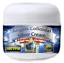 Colloidal Silver Cream Gel Advance Healing 100ppm BEST!