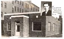 Rppc,Canistota,So.Dakota, Dr.H.W.Ortman,Ortman Bone & Nerve Clinic,c.1945-50s