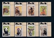 [34617] Tajikistan 2009 Wild Animals Mammals Tiger Camel Panda Elephant MNH