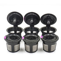 6-Pack Reusable K Cup Filter Basket Refillable Coffee Pod Capsule for Keurig VUE