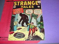Strange Tales #100 Marvel/Vista Jack Kirby Ditko Ayers Stan Lee / Sci Fi 1962