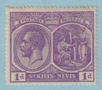 ST KITTS  34 MINT HINGED OG * NO FAULTS EXTRA FINE!