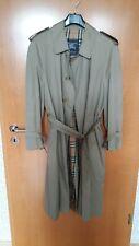 BURBERRY Trenchcoat Herren Mantel mit Gürtel Größe 52 neuwertig