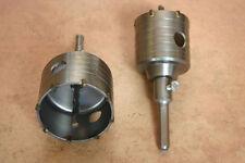 2x HM Bohrkrone , Dosenbohrer je 65 u 80mm