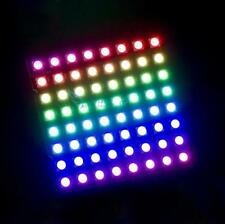 New 8x8 64 LED Matrix WS2812 5050 LED RGB Full-Color Driver Board For Arduino