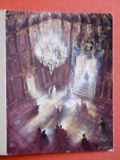 Pierre CLAYETTE Carton Gal. Prosceium Théâtre de VICTOR HUGO Jean Le Poulain 85