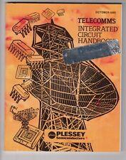 Plessey Semiconductors Telecoms Integrated Circuit (Ic) Handbook Data Book 1985