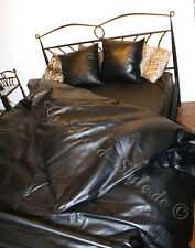 Gay'le Leder bettwäsche 4tlg. Leder Bettlaken Bettwäsche leather literie en cuir